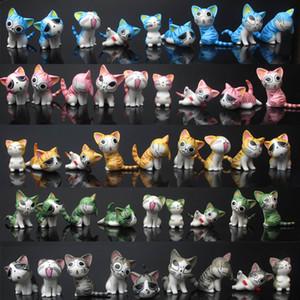 Hot New 9PCS / Lot 3CM-4см Чи Sweet Home Cat рис Аниме Коллекционные Фигурки лучшие подарки игрушки