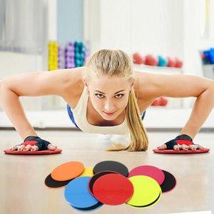 1 Pair Slide Board Sliding Disc Workout Coordination Ability Fitness Sport Yoga Gym Workout Equipment Training Slide Mat