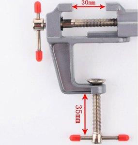 الشحن مجانا 1 قطع أعلى جودة البسيطة الفك سطح المكتب تحامل الملزمة المواد الفك نائب مقعد لحام مساعد نموذج النجارة الملزمة