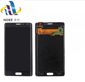 Original lcd para samsung galaxy note 4 borda n915 n9150 n915f display lcd com tela de toque digitador assembléia testado qualidade