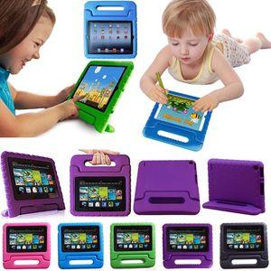 Crianças iPad Caso À Prova de Choque EVA Espuma Stand Tablet Tampa Para apple ipad mini 1 2 3 4 air 2 ipad pro 10.5