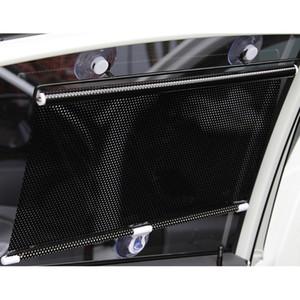 40 x 60CM 자동차 커튼 사이드 윈도우 UV 차단을위한 Sun Shade 자동차 인테리어 용품 Black Car Styling Folding Sunshade