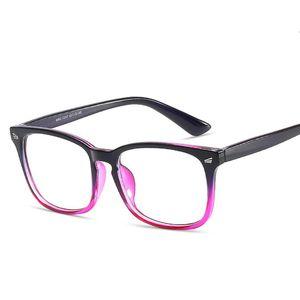 أزياء مكافحة Blu-Radiatio الرجعية الكمبيوتر نظارات إطارات النساء الرجال مكافحة الأزرق حماية شقة مرآة نظارات إطار النظارات البصرية