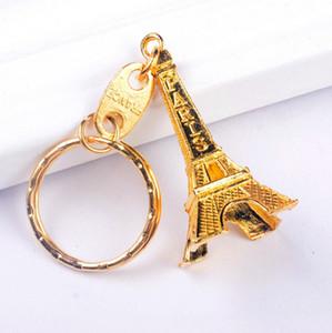 حار بيع برج ايفل سبيكة معدنية سلسلة المفاتيح مفتاح سلسلة مفتاح برج ايفل حلقة معدنية سلسلة المفاتيح فرنسا Efrance تذكارية باريس كيرينغ الموجودة في قاعدة المفتاح