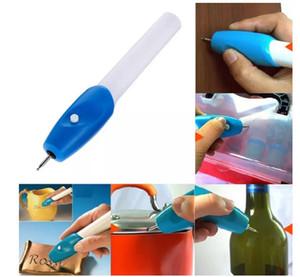 새로운 미니 조각 펜 전기 조각 펜 기계 그레이 버 도구 조각사 철강 보석 조각사 펜 키트