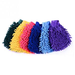 Singolo lato Super Mitt microfibra Car Wash guanti di lavaggio a secco Anti Scratch Rondella dell'automobile domestica pennello Cura