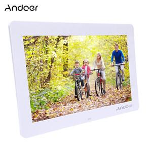 """Toptan 14 """"HD Elektronik Dijital Fotoğraf Çerçevesi ile 1280 * 800 Uzaktan Kumanda Dahil MP3 MP4 Movie Player Çalar Saat"""