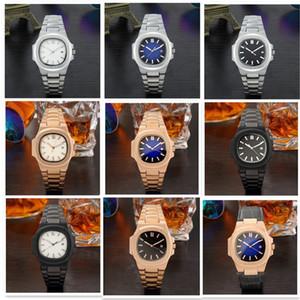 Lüks Moda Günlük İzle Ünlü Kuvars İzle Erkekler Kadınlar Paslanmaz Çelik Band Bilek Relojes Montre Homme Kol