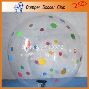 Ücretsiz Kargo 2.5 m Çapı Şişme Kabarcık Su Topu, Şişme Yüzme Havuzu Sulama Topu Şişme Oyuncaklar Yürümek