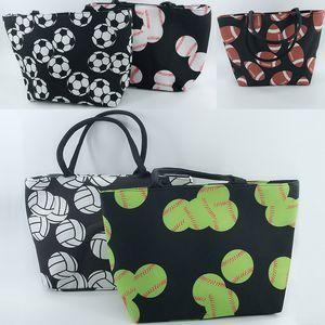 البيسبول Softball شاطئ Hanbags حقيبة كرة القدم الرياضة تخزين حقيبة حمل حقائب الكتف المنظم 5 ألوان WX9-580
