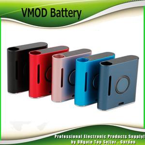Original Vapmod vmod 2 I II Battery 900mAh Pré-aqueça o VV Variable Voltage Vape Pen Box Mod Kit para 510 Thick Oil cartuchos 100% Authentic