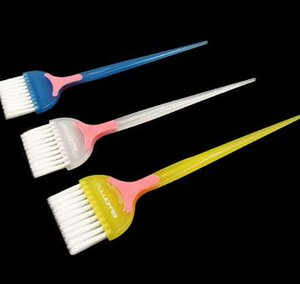 1 Pc Professionnel PP Poignée Naturel Environnemental Résine Fluffy Peigne Coiffure Barber Dye Cheveux Brosse À Cheveux maquillage peigne styling