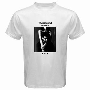T-Shirt Kurzarm für Unternehmen The Weeknd Trilogy Album Cover Xo Herren Weißes T-Shirt Größe S - 3xl Rundhalsausschnitt Sommer T-Shirt