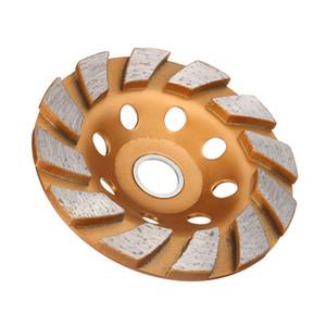 Disco de roda concreto do copo da roda de moedura do diamante de 100mm para a moedura concreta da pedra de Granit
