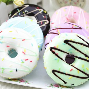 Squishy Squeeze Stress Reliever Soft Bunte Donut Scented Slow Rising Toys Squishi Anti-Stress-lustige Gadgets Squeeze