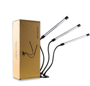 USB LED 빛 18W 36 36W 54 LED 5 모드 가변 식물 성장 램프 성장 빨간색 파란색 튜브 빛