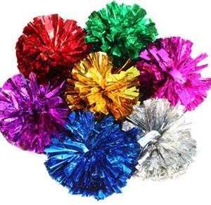 Pom poms Amigo 50g Tezahürat pompom Metalik Pom Pom Amigo ürünleri seçtiğiniz için birçok renk