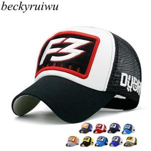 Beckyruiwu 2018 Moda New Hip Hop Snapback Caps adulto Estate Maglia Trucker Cappelli Per Le Donne Uomini casquette Fresco Cappello Da Baseball Cap