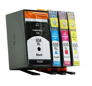 HP934 Officejet Pro 6820/6230/6812/6815/6835 Mürekkep Kartuşu Için 4 adet / takım