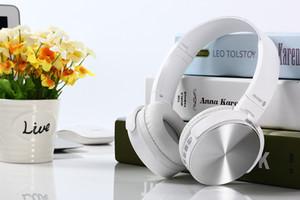 Auricolari Bluetooth Cuffie senza fili Cuffie stereo pieghevole portatile con microfono Auriculares Aurifulares