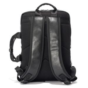 2016 PU мужчины кожаные рюкзаки школьные сумки для подростков студентов плеча рюкзак Мужчины Женщины 14 дюймов ноутбук рюкзак HQB1860
