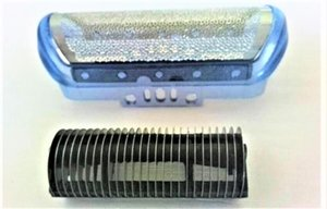 Écran de film extérieur de rasoir bleu + lame pour Braun 5684 5685 5727 5728 5729 5730 Nouveau coupe-barbe de rasoir