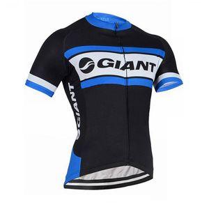 GIANT équipe cyclisme manches courtes maillot été hommes cyclisme maillots VTT Vélo Équitation Route Manches Courtes Top K062128