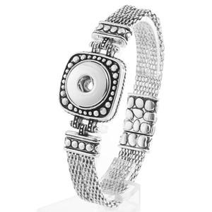 Jayna Lee Hot Saler Snaps Buttons Pops Bracelet Jewelry Fit 18mm 20mm Ginger Snaps for women men gifts GJB7002