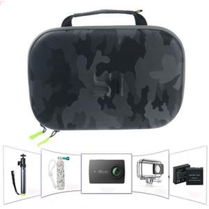 عمل حقيبة تخزين الكاميرا لكاميرا يي 4K GOPRO Hero 6 5 4 3SJ4000 SJ5000 SJ6 أسطورة التمويه حقيبة سفر حقيبة يي حقيبة الأصلي