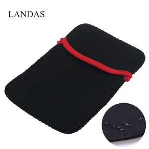 """Landas 13 """"Koruyucu Kol Çantası Kılıf Kılıfı Için iPad 12.9 Inç Evrensel 14"""" 15 """"17"""" Laptop Çantası Dizüstü PC Tabletler için"""