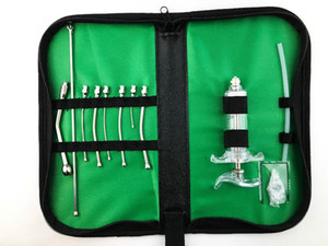 Animal oral gavage Feeding Kit - utility pouch,gavage needles, drencher, TPX syringe, silicone tube