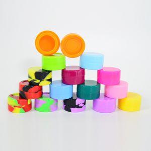 Силиконовое масло Контейнер 5мл силиконовый воск Box многоцветный силиконовый чехол 32мм * 18мм многоразовый Контейнер для воска или ЦРВ инструментов