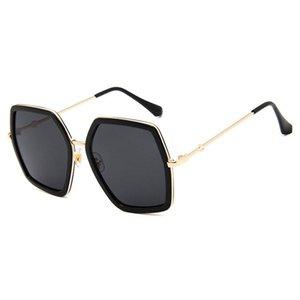 New Female Luxury Big Glasses Sun Designer Glasses Oversized Crystal Sunglasses Brand Women Mirror UV400 Sun Square For Ladies Frame Ahxrl