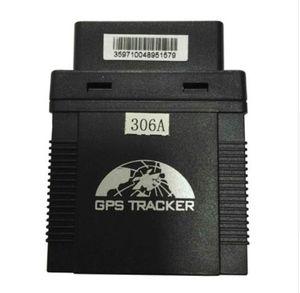 플러그 플레이 GPS306 미니 자동차 추적기 OBD II GPS 추적기 택시 / 차량 함 대 관리 지원 IOS 안 드 로이드 APP Rastreador