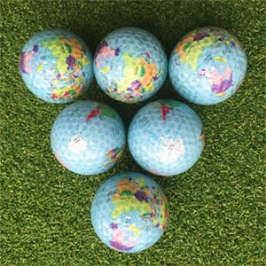 Pelota de golf Globo de goma elástica Práctica Ayuda de entrenamiento Pelota de golf suave Girando maravillas Bola de nieve Campo Práctico 4 9hc dd