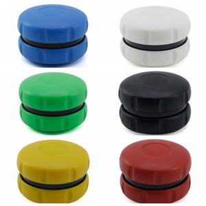 최신 다채로운 플라스틱 햄버거 모양 허브 분쇄기 스파이스 밀러 크러셔 고품질 아름답고 독특한 디자인 여러 색상 핫 세일