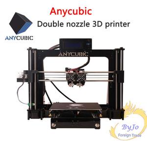 Impressoras 3D Anycubic Chinês / Inglês interface DIY suíte de aprendizagem de referência prusa i3 duplo bico Dupla impressão a cores