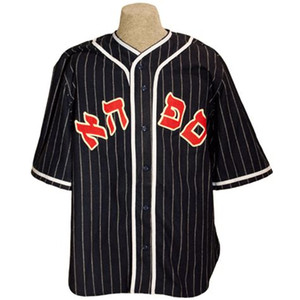 Philadelphia Hebrews 1920 Road Jersey 100% Stitched Embroidery Logos Vintage Baseball Jerseys Custom Any Name Any Number Free Shipping
