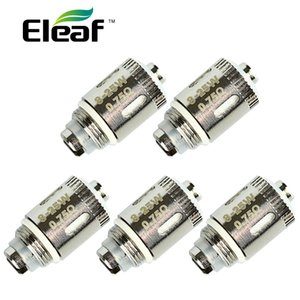 5 pezzi Eleaf GS-Air 2 Pure Cotton Head per atomizzatore GS Air 2 0,75ohm Pure cotton wick E-cig bobine