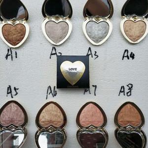 T00Faced Amour Lumière Prismatique Surligneur Maquillage Bronzants Golden Scintillation Illuminateur 8 Couleurs Ombre À Paupières Bonne Qualité