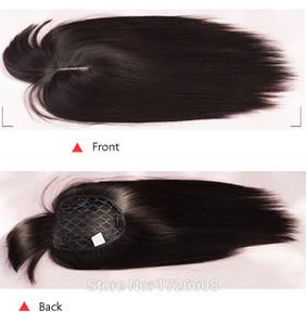 Teave de cabelo resistente ao calor de densidade total 3 cor tecer cabelo reto com fecho de renda frontal extensões de cabelo sintéticas trama