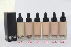 حار ماكياج الأساس STUDIO WATERWEIGHT الأساس السائل 30ML 6colors جودة عالية DHL shipping + Gift