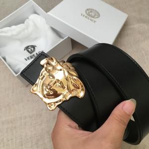 Cinturón casual de moda clásica del diseñador 2018 con hebillas lisas para mujeres de piel de vaca cinturón casual estilo caliente al por mayor transporte gratuito