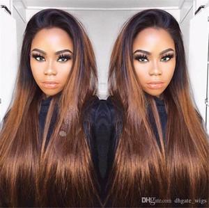 İpeksi Düz Saç Tam Dantel Peruk # 1BT27 Sarışın Renk Malezya Remy İnsan Saç Tutkalsız Peruk Ile Bebek Saç Ayarlanabilir Kayış