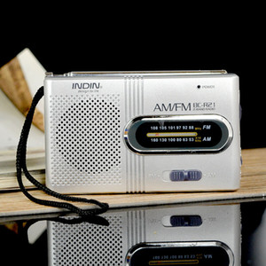 BC-R21 Mini Radio Portátil AM FM Antena Telescópica Receptor de Radio Mundial DC 3V Buena calidad