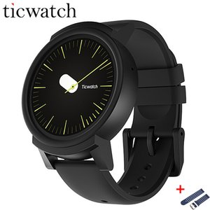 Ursprüngliches Ticwatch E Expres Smart Uhr Android Wear OS MT2601 Dual Core IP67 Wasserdicht Bluetooth 4.1 WIFI GPS Smartwatch Telefon