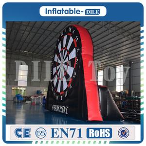 Giant ПВХ Дартс Футбол Надувного Foot Дартс Карнавал игра Футбол Dart, Дартс Надувного, Big Balls Blower Включено