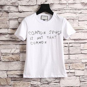mode luxurys marqueur homme t-shirt concepteurs de sens commun printemps été rouge rouge rayure lettre print t-shirt piste tees décontracté haut