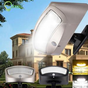 36LED alimentado por energia solar levou luz por PIR ajustável sensor de movimento ao ar livre luz de parede jardim ao ar livre lâmpada à prova d 'água