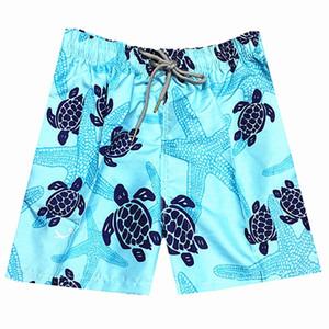 2018 novo verão dos homens de moda troncos de natação praia surt boxer boxer calções terno dos esportes swimwear dos homens bandeira com tag